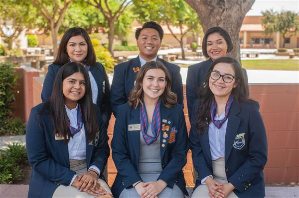 2019-20 Central Section Officer Team