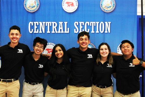 Section Officer Team at 2018 OAT Day in Madera