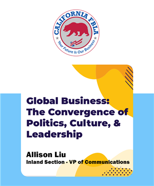 Ally poster - global business