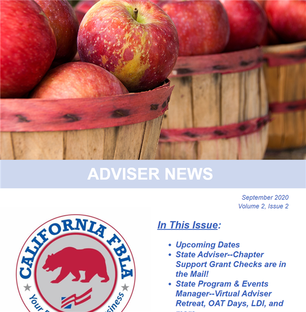 September 2020 Adviser Update Newsletter